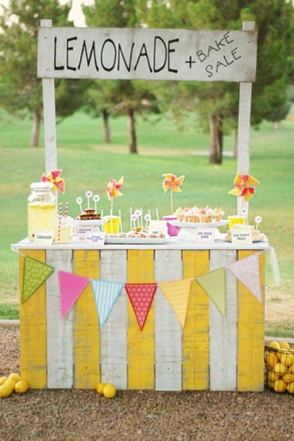 DIY Pallet Project Lemonade