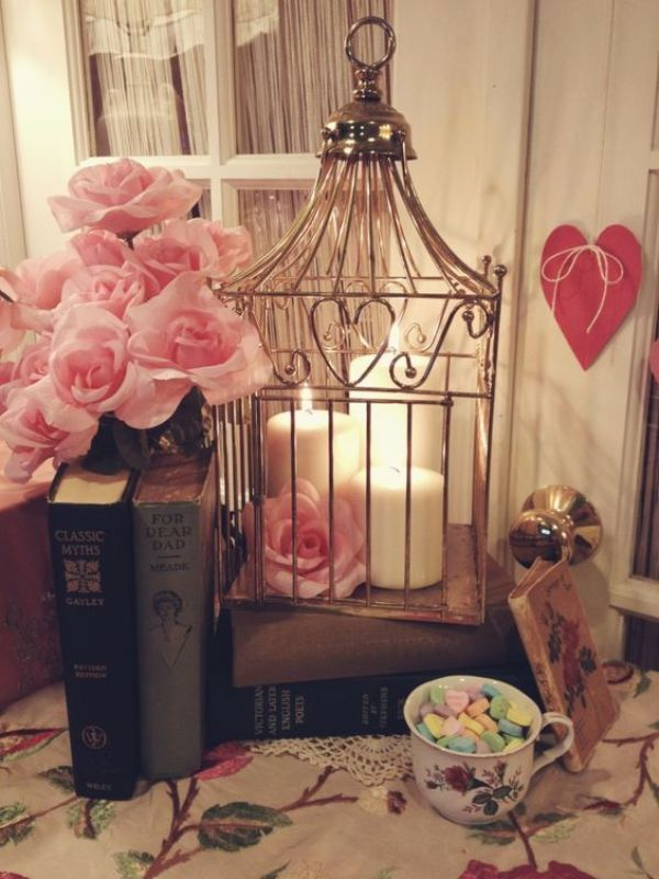 DIY Romantic Cage