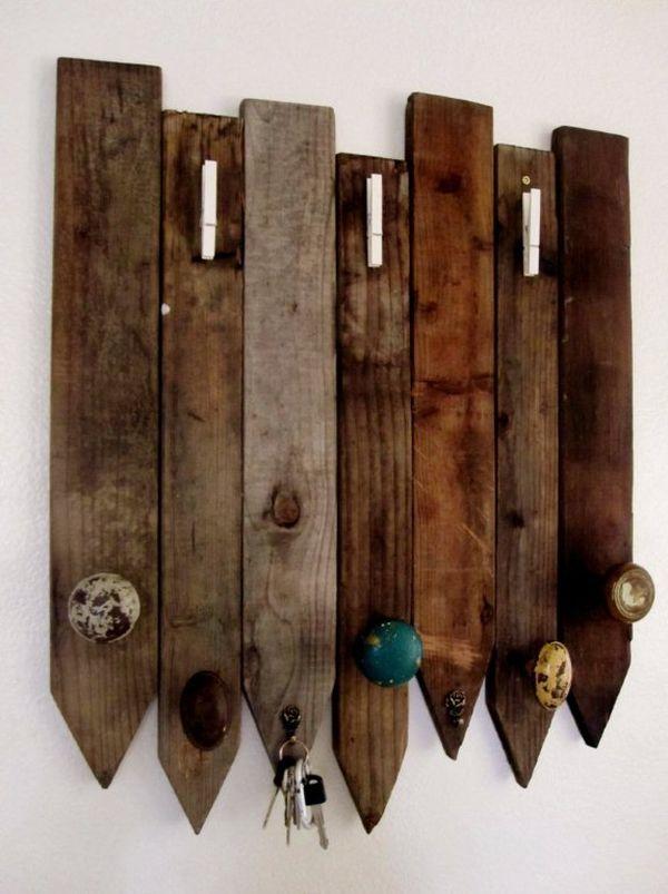 DIY Wooden Key Holder