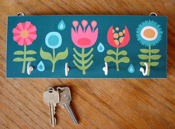 DIY Painted Key Holder