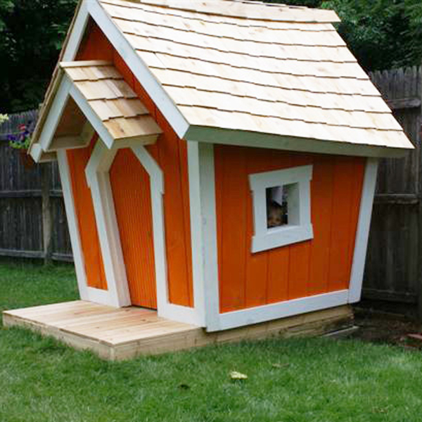 DIY Little Red House