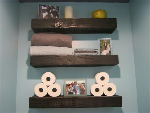 DIY Wooden Shelves