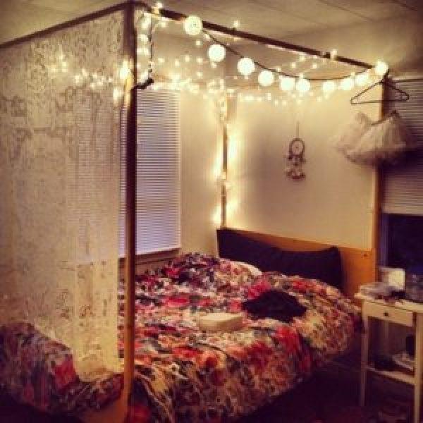 DIY Bed Lamps