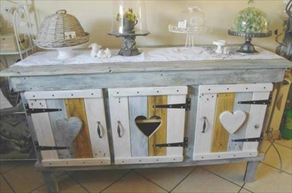 do it yourself Pallet Cabinet