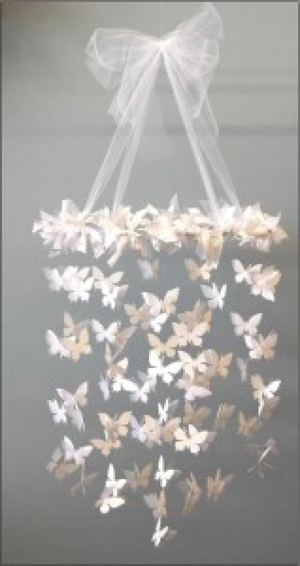 DIY Butterfly Light Design