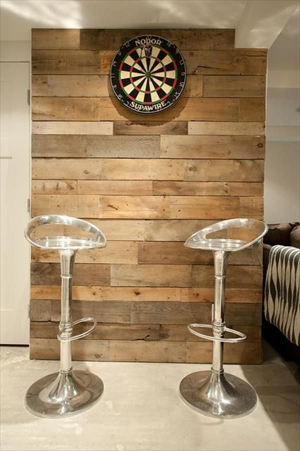 Homemade Pallet Furniture Project