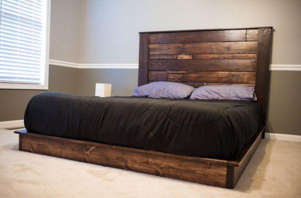 Modern Pallet Bed frames
