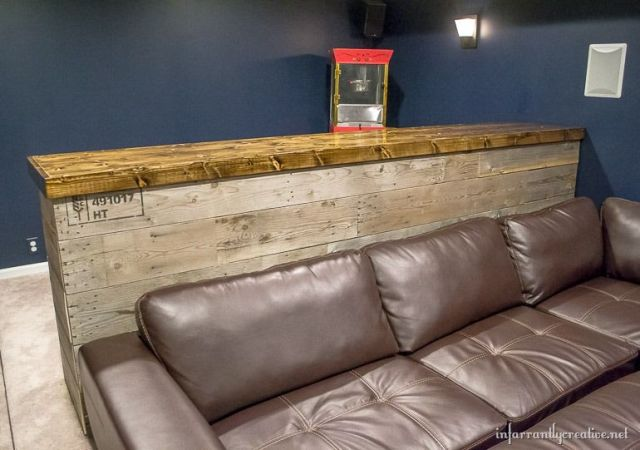 Recycled Wood Bar