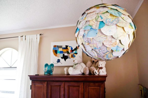 DIY World Map creativity