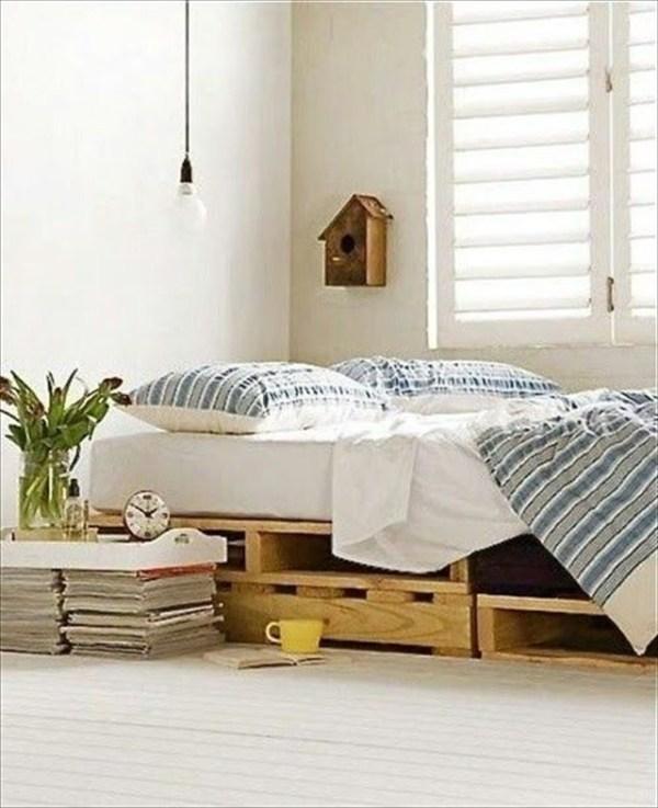 DIY Modern Bed