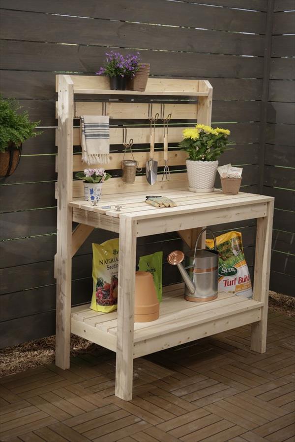 DIY Plants Storage