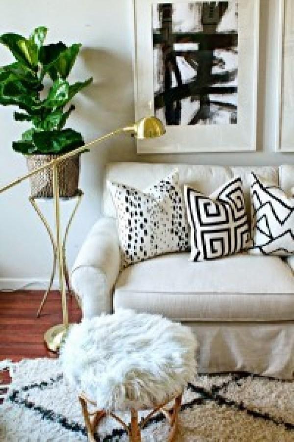 DIY Interior Design Pillows