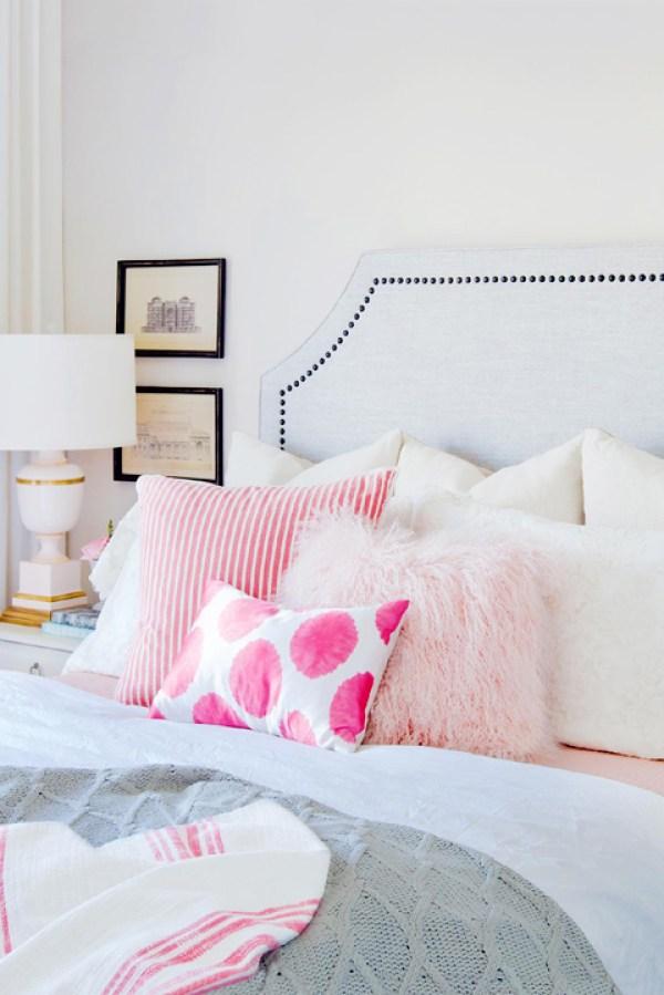 DIY Pink Pillows