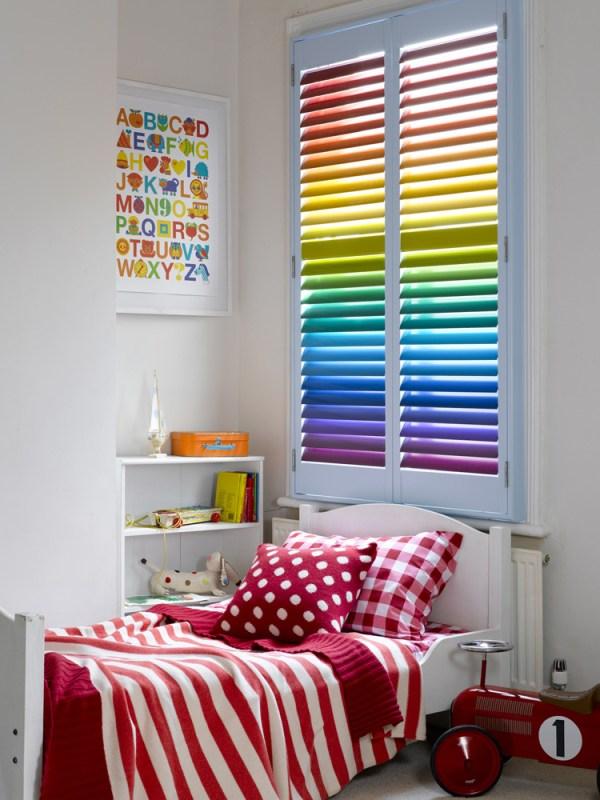 DIY Rainbow Window