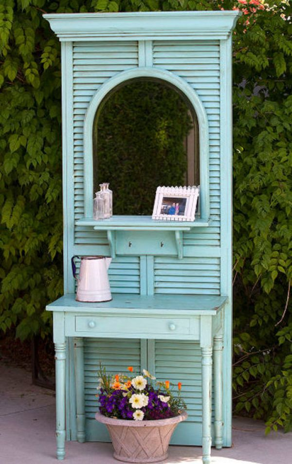 DIY Blue Window