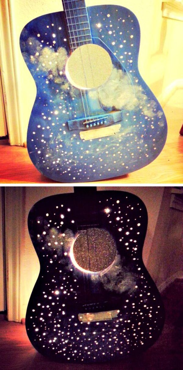 how to recycle old guitar