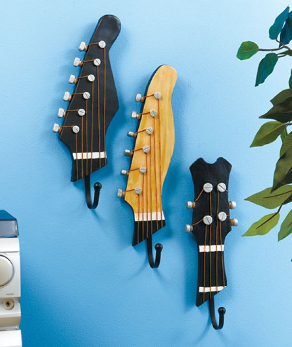 Guitar Wall Cloth Hangers