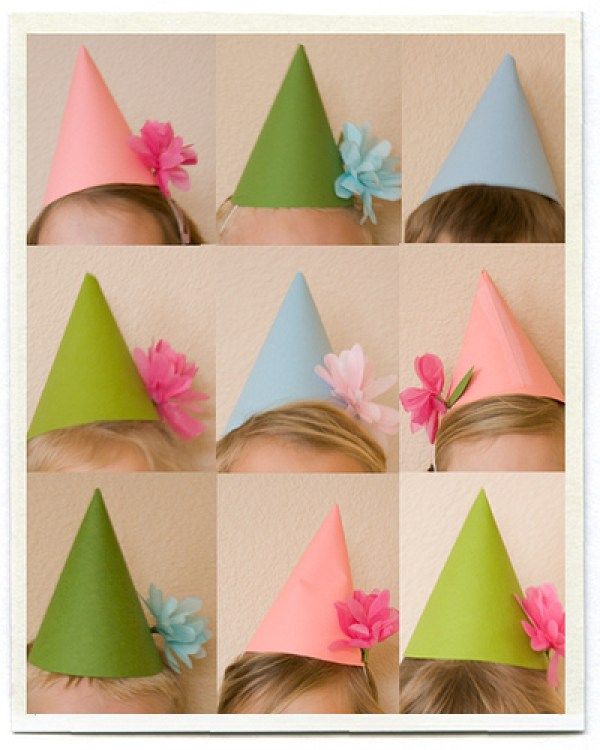 DIY Bday Creative Hats
