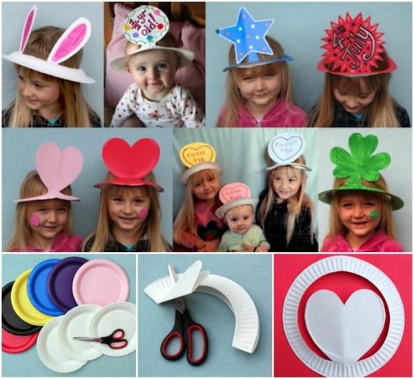 DIY Bday Hats