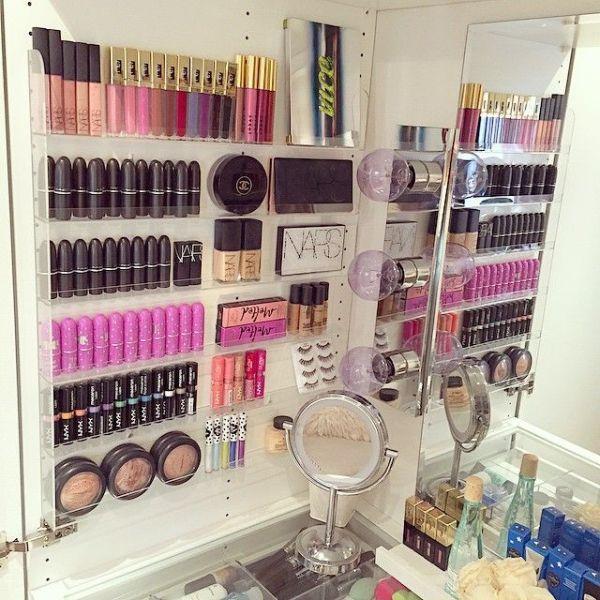 DIY Beautiful Make up Organize