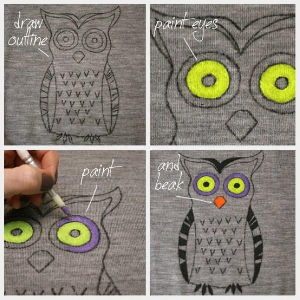 DIY Grey Owl