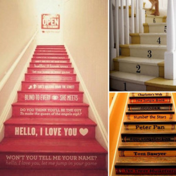 DIY Creative Stairs