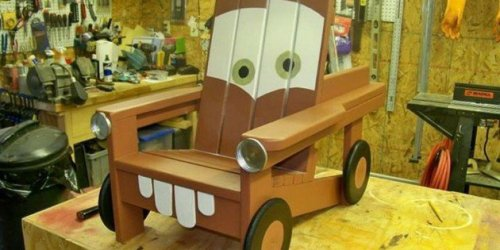 DIY The Cars Chair