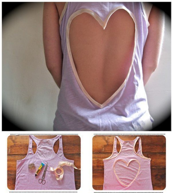 DIY Romantic Shirt