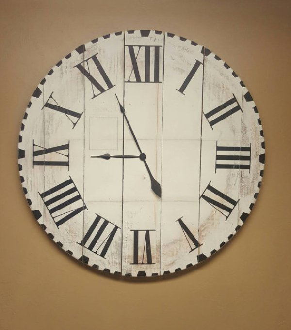 wood pallet clock instructions