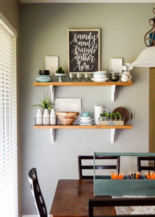 wall hanging shelves ideas