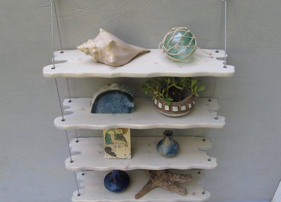 wall mounted storage shelves