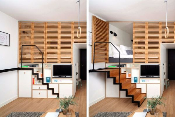smart storage solutions for tiny home