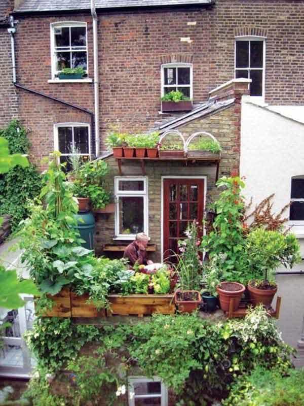 do it yourself balcony garden