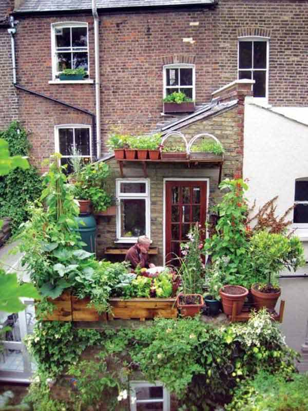 do it yourself balcony garden