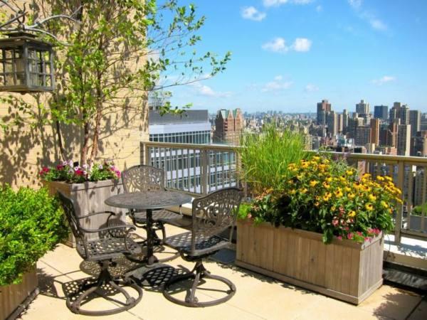 terrace garden plan