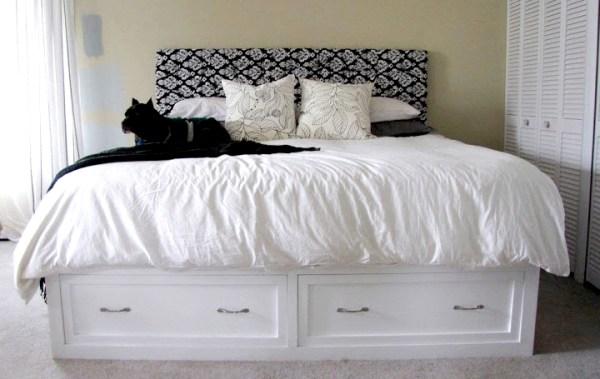 DIY wooden bed designs