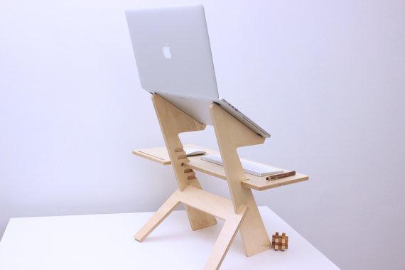 easy laptop desk plans