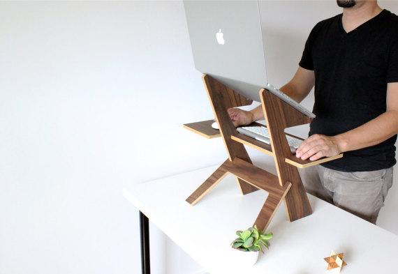 homemade laptop desk