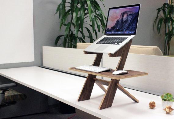 laptop desk DIY tutorial