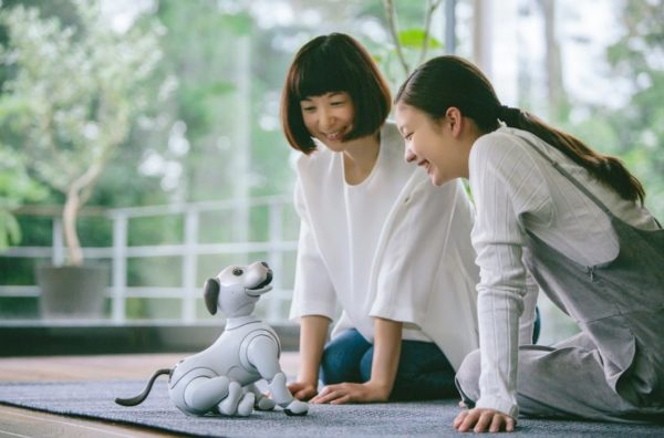 Sony Robotics Dog features
