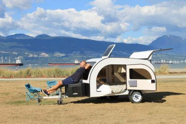 outdoor trailers droplet