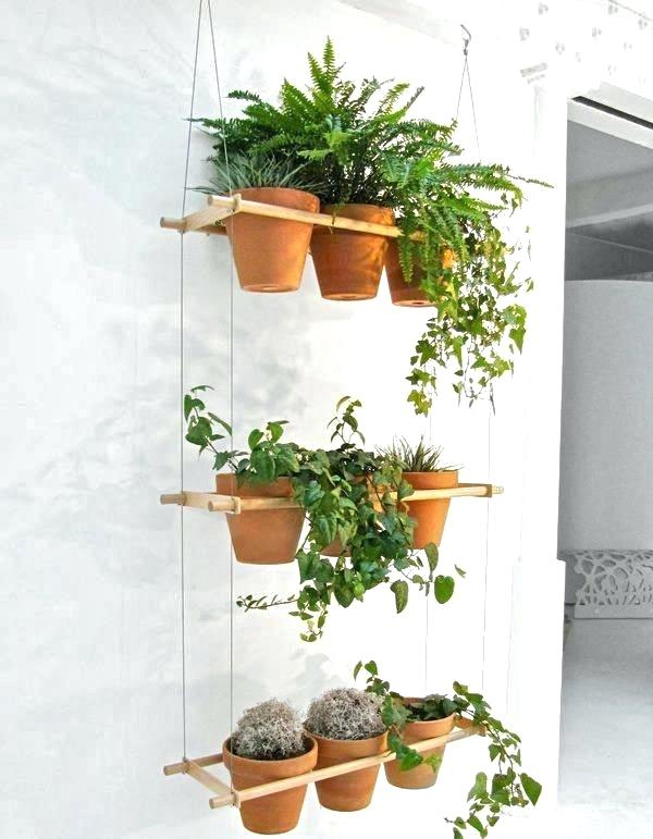 do it yourself hanging flower pot