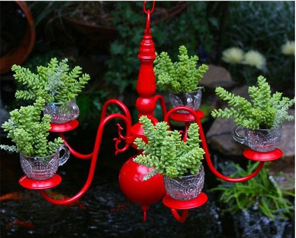 Chandelier-Planter