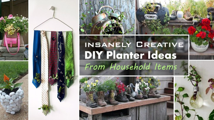 10 Best Creative DIY Planter Ideas from Household Items | EASY DIY ...