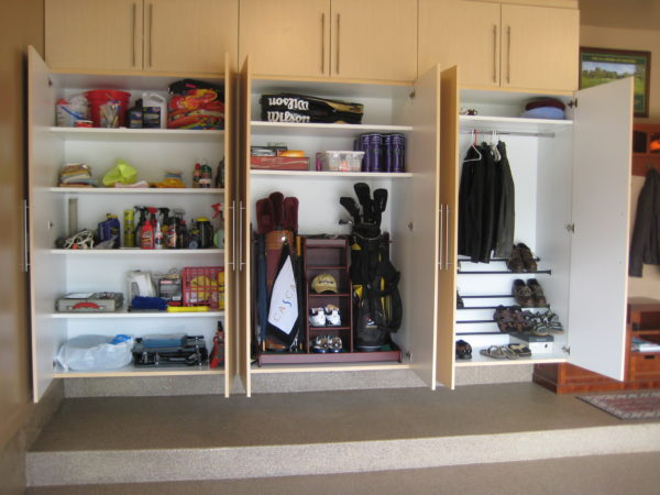diy garage storage shelving