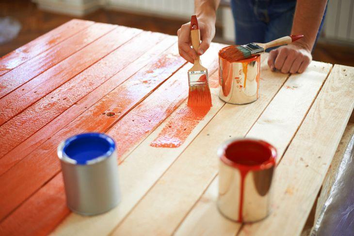 Pallet paint DIY
