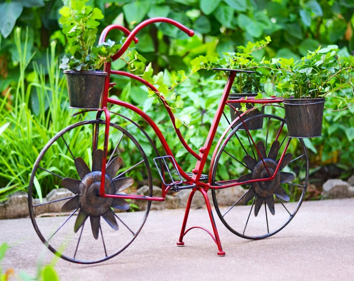 red-bicycle-planter