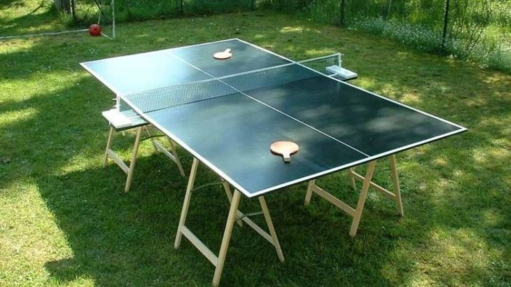 Ping Pong Table DIY