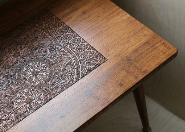 DIY walnut COFFEE TABLE