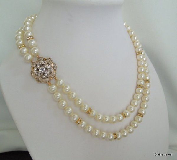 how to craft pearl necklace